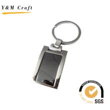 Werbe Rechteck Metall Schlüsselanhänger mit hoher Qualität (Y02325)