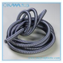 2015 Nouveau tuyau de renfort PVC couleur gris