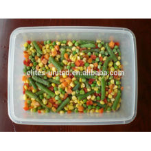 Preços chineses de legumes misturados congelados