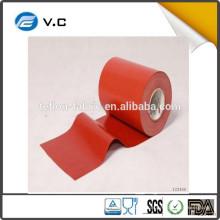 Hecho en China 0.4mm aislamiento térmico de fibra de vidrio de silicona de tela ignífuga