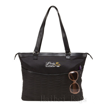 Stimulated couro Ladies Tote (hblb-1)