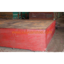 S48c Baogang Hot Rolled Carbon Steel Block Forging For Injection Plastic Mould Thickness 130-380mm
