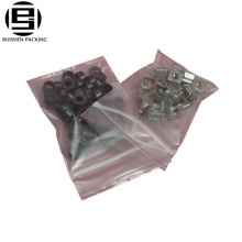 Clear transparent stand up ziplock bags small sizes