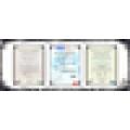 Prix à bas prix de l'argent de l'argent en acier de 15x6.0 '' pour la voiture de tourisme