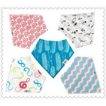 2017 china supplier cheap cotton triangle bandana Baby Bibs wholesale