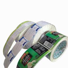 Die-Cut gedruckt Selbstklebenden Aufkleber für die Verpackung