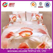Tissu 100% polyester chaud et moulant pour la fabrication de draps de lit