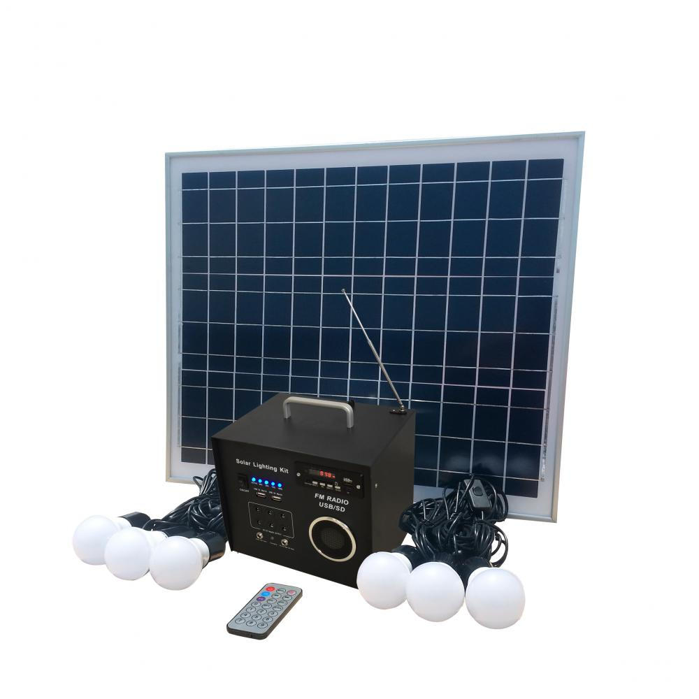 Mini 40w solar lighting system for home use ,low price