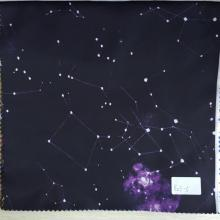 Constellation Black / Purple Imprimé Doublure