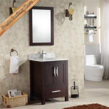 Vaso de banheiro de banheiro de banheiro com único pano