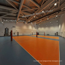 Indoor billige Volleyball PVC Sport Bodenbelag