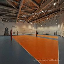 Pavimento para esportes de PVC com estilo barato para voleibol
