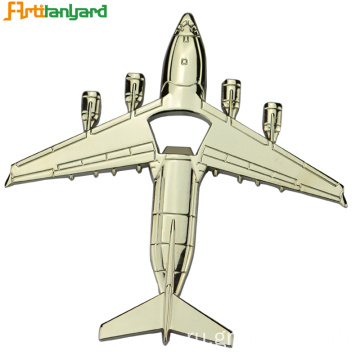 Alloy Aircraft Shape Bottle Opener
