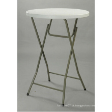 80 * 110cm Cocktail Banquete Round Bar Table 32inch, de alta qualidade Plastic Folding Table