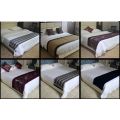 Beautiful Hotel Bed Runner and Cushion