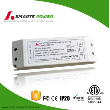 Single output 45w 24v 12v led driver transformer 12 v 0-10v led driver dimmable 220v