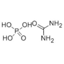 Fosfato de ureia CAS 4861-19-2