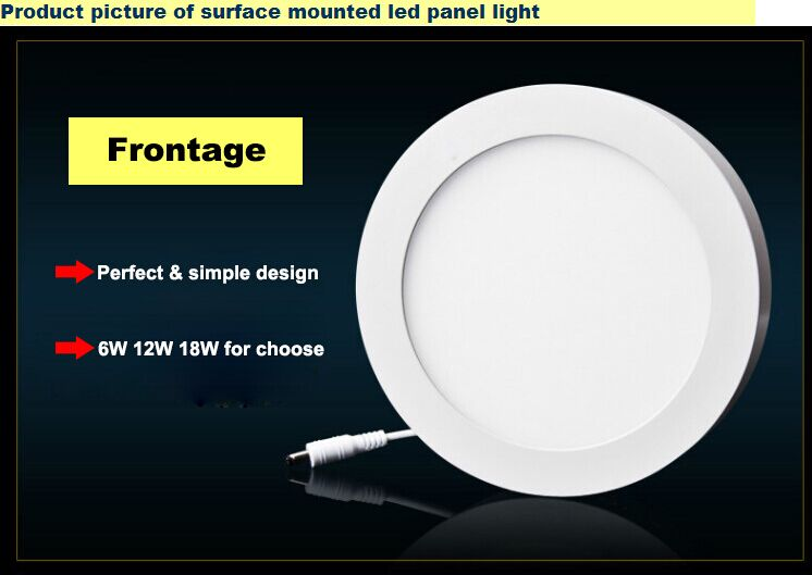 LED Panel Surface mounted Round Panel light