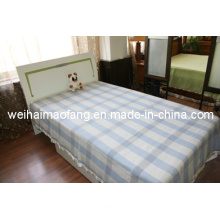 Woven Woolen Pure Virgin Wool Blanket/ (NMQ-WB004)