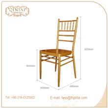 Chaise de salle à manger design moderne de luxe avec cadre doré