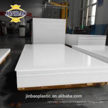 JINBAO 12mm 15mm folhas de espuma de pvc impermeabilização PVC forex board