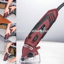 55mm 400W Multiusos Cutting Mini Electric Power Pequeña Sierra Circular