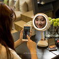 2017 hot new products bluetooth speaker music makeup mirror with LED light
