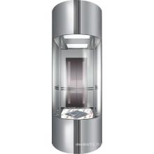 Vvvf Commercial Lift Lift Panoramique pour Visiter