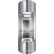 Elevador panorâmico do elevador do uso comercial de Vvvf para Sightseeing