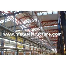 OEM Sawing, Grinding Industrial Steel Buildings For Textile
