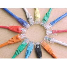 Hecho en los cables cat6 de la red de China, cable óptico barato del precio del cable cat6 del utp
