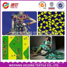 patrones de variedad y diseño de tela de cera / tela de cera de África / tela de cera de diseño de cliente