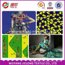 modèles de variété et conception de tissu de cire / tissu de cire d'Afrique / tissu de cire de conception de client