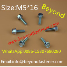 M5*16 Hex Washer Bolts