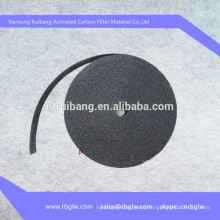 Supply filter media solvent recovery activated carbon