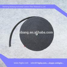 Fornecimento de Viscose Ativado feltragem de fibra de Carbono