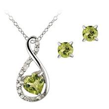 925 joyería de plata de los anillos y de los colgantes fijados con CZ