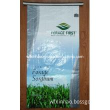 Forage Sorgbum Net Wt 50lb (22.68kg) ; BOPP Woven Forage Bag; Feed Bag