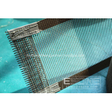 Heat resistant PTFE open mesh for packing machine