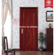 Paneles de madera de la puerta de la melamina
