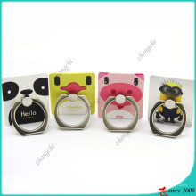 Personaje de dibujos animados Logo Finger Ring Holder for Company Gift (SPH16041103)
