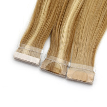"""Hot Style Hair for Salon 8""""-30"""" Straight European Skin Weft Double Sided Tape in Remy 100% Brazilian Human Hair Extensions"""