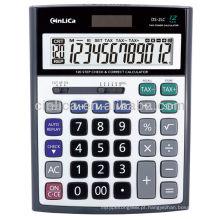 Calculadora do imposto do tamanho grande de 12 dígitos, certificado do CE Calculadora