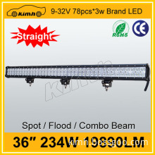 CE, RoHS Certification car part 234w led linear light bar