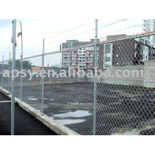 galvanized/pvc chain link fence