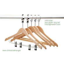 Anti-Diebstahl Aufhänger mit Bar, multifunktionaler Kleiderbügel Bügel unten