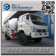 6 Wheeler Forland 5 M3 Right Hand Drive Mixer Truck