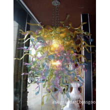 Elegant Murano Blown Glass Lamp for Sale