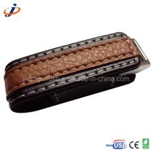 Caixa de couro USB Flash Drive (JL16)