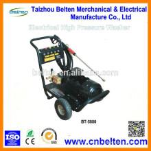 BT-5880 200Bar / 2900PSI 26L / Min / 7GPM 2880R / Min 5.5KW Equipamento portátil de lavagem de carros para venda a mão